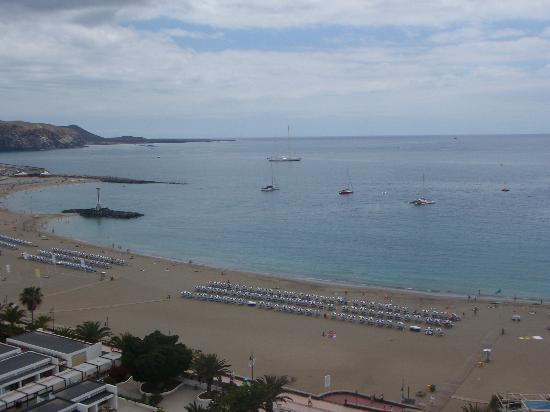 Los Cristianos, Spain: the fake beach
