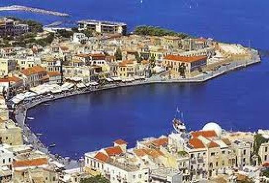 Old Harbour Of Chania Picture Of Michalis Restaurant