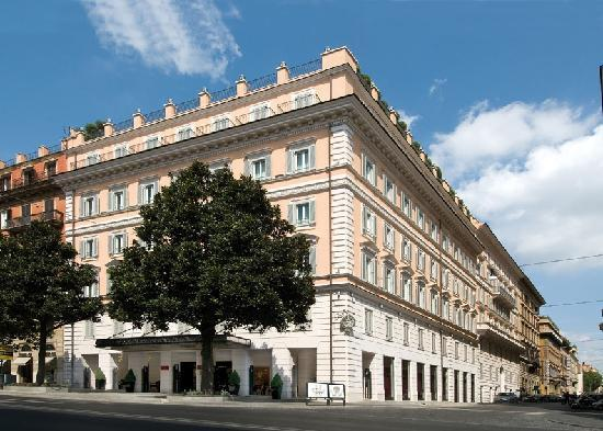     : Grand hotel via Veneto