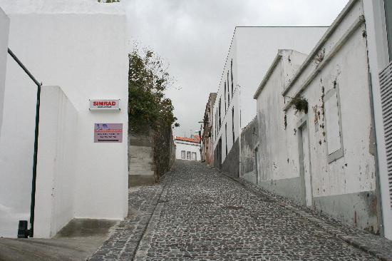 Ponta Delgada, Portugal: lovely side streets