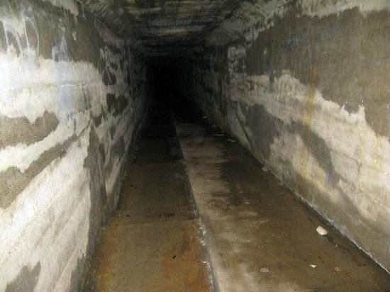 End Of Body Chute Waverly Hills Sanatorium Picture Of