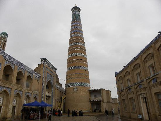 Uzbekistn: Khiva Minaret