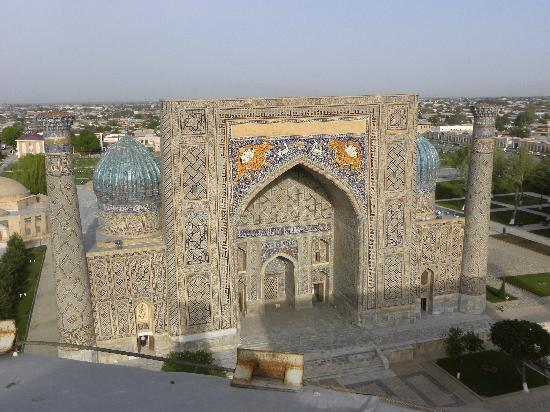Узбекистан: Ragistan square-Samarkand