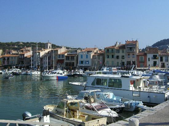 Hafen in Cassis