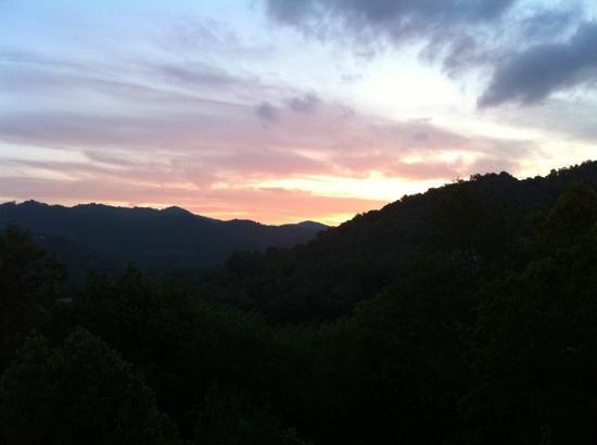 Banner Elk, Carolina del Norte: View from the deck!