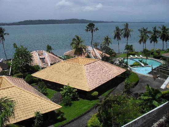 Leyte Park Resort Hotel: the view!