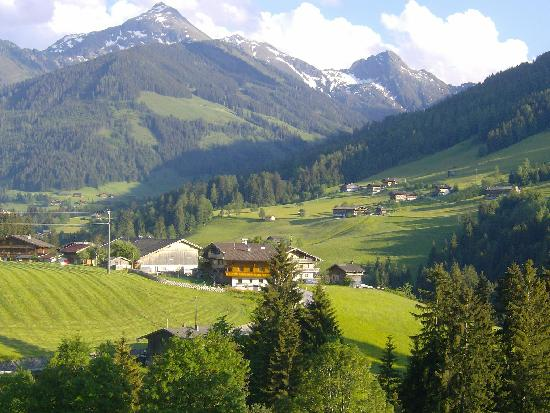 Alpbach, Austria: View from the dining table