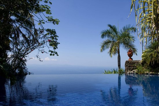 Infinity Pool at Villa Caletas, Jaco