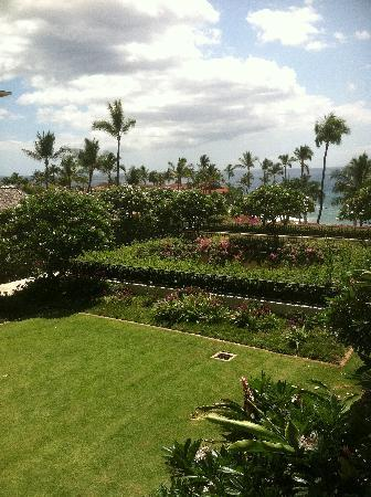 Four Seasons Resort Maui at Wailea: 4th floor view