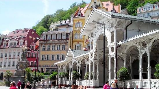Karlovy Vary Beautiful Day In The Beautiful Spa Town Picture Of Hotel Kings Court Prague