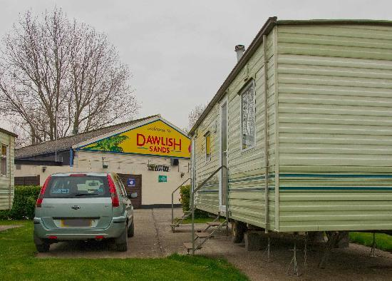Proximity To Club Picture Of Dawlish Sands Holiday Park