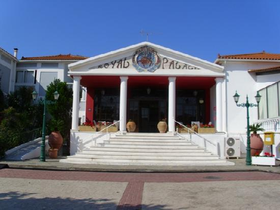 Vasilikos, Greece: Hotel Entrance