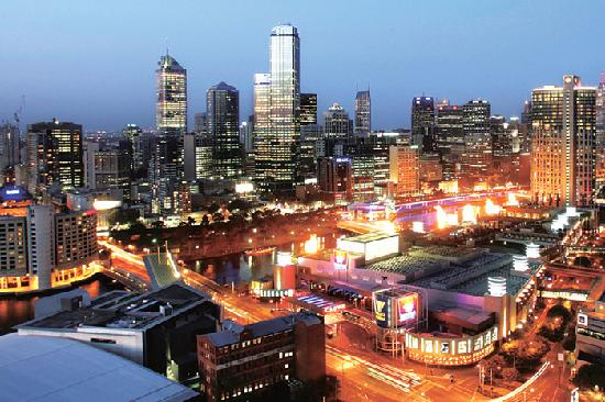 Melbourne Short Stay Apartments Southbank Deluxe: Premium View