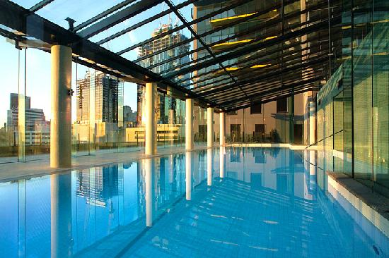 Indoor Heated Pool With Glass Roof Picture Of Melbourne Short Stay Apartments Melbourne