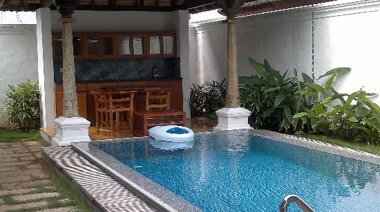 Our villa picture of le pondy pondicherry tripadvisor for Best hotels in pondicherry with swimming pool