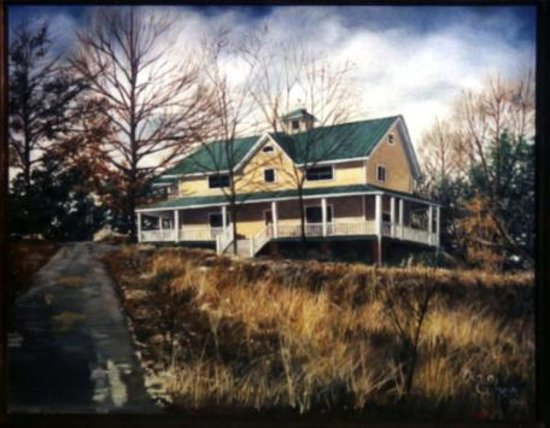 Rooster Hill Bed & Breakfast: Painting of Rooster Hill B & B