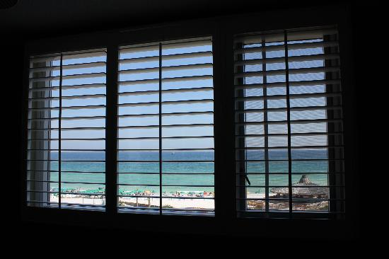 The Islander: Looking out the master bedroom window.