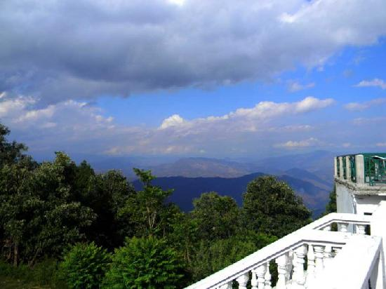Binsar, India: Morning view