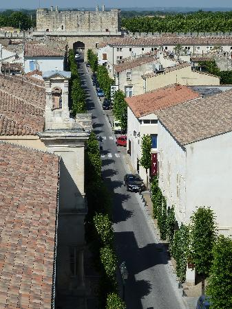Aigues-Mortes, France: View from the Ramparts