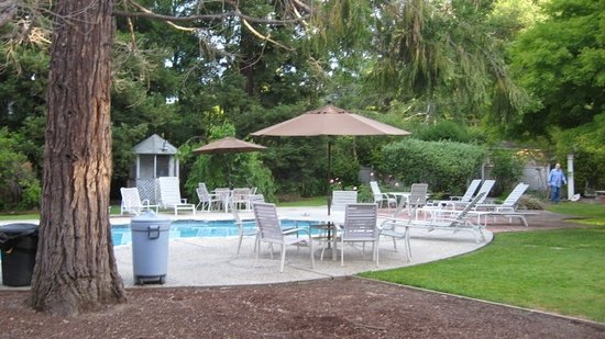 Atherton, CA: Pool Area