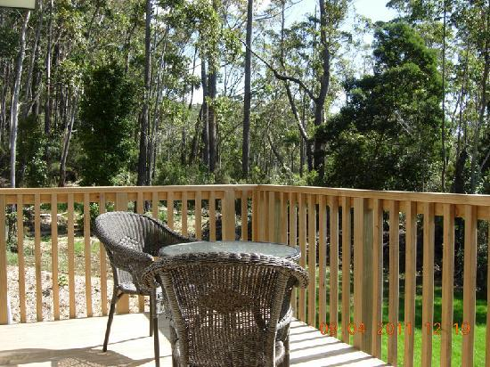 Orchid Grove Country Lodge: deck