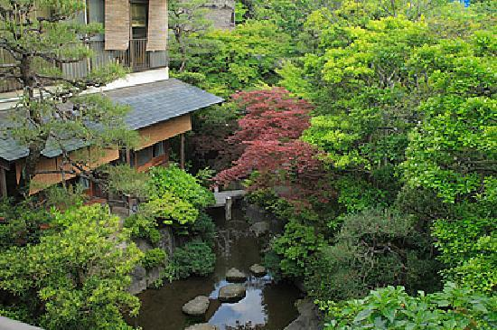 View with traditional japanese style 8tatami garden room for Japanese garden room