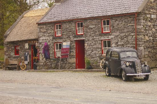 "Glengarriff, Irlande : wonderful ""tucked away"" tea rooms"