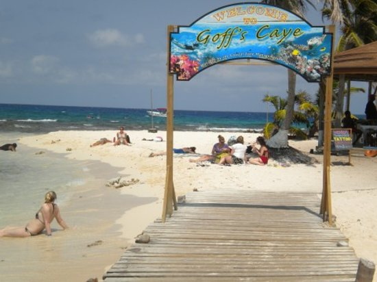 Belize Cruise Excursions Goff S Caye Beach And Snorkeling Tour Reviews Belize City Belize