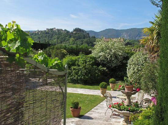 Menerbes, France: The View From the Malaussene Room
