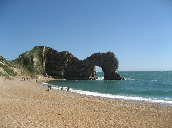 Den engelske riviera, UK: Durdle Door