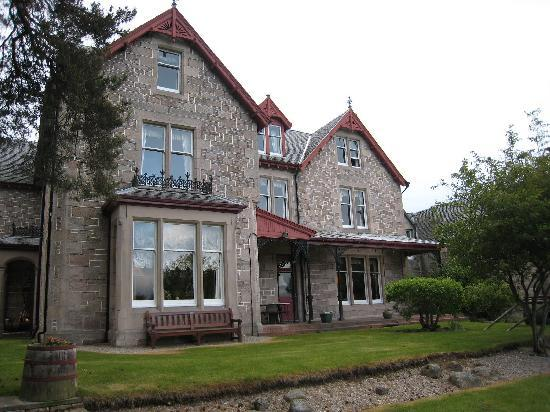 Dalrachney Lodge Hotel: Entrance