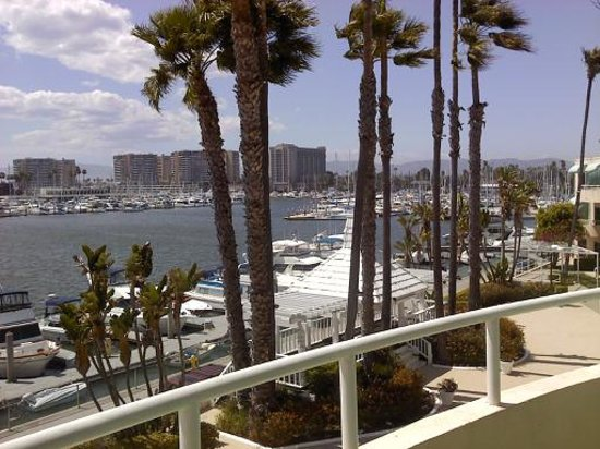Marina del Rey, Californie : View from our room.