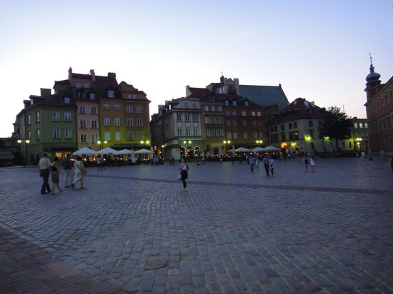 Warschau, Polen: Old City, Warsaw
