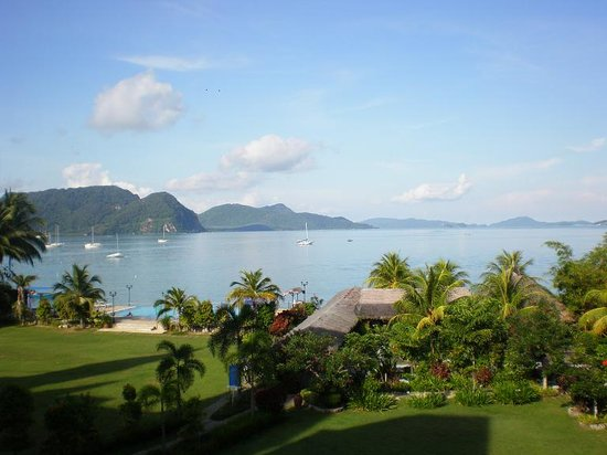 Kuah, Μαλαισία: View from my deluxe room