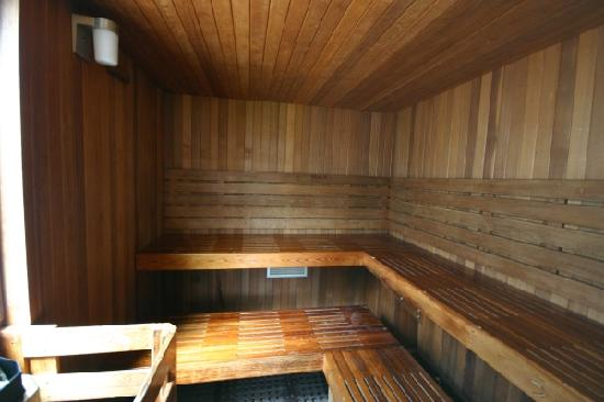 Penticton, Canada: Great sauna