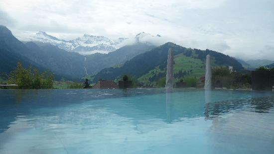 Adelboden, İsviçre: Outdoor Pool