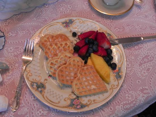 Amelia Payson House: Wonderful breakfast