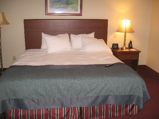 Wingate by Wyndham Lake George: sleeping area