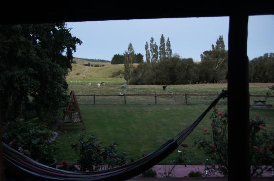 Mingary Farmstay B&amp;B Accommodation: View from our bedroom