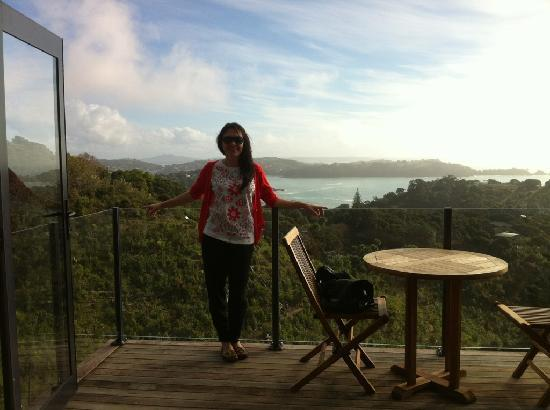 Waiheke-øya, New Zealand: View from our room!