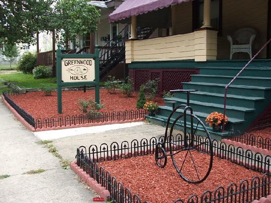 The Greenwood House: Bicycles always welcome