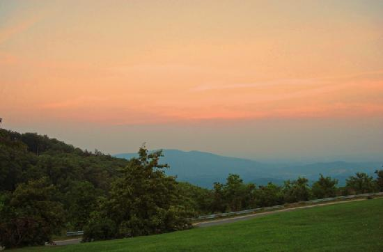 Little Switzerland, NC: View from Inn