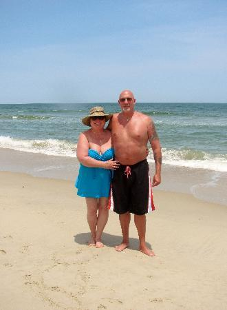 ‪‪Kitty Hawk‬, ‪North Carolina‬: beach haven's beach‬