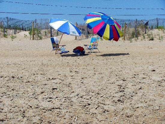 Kitty Hawk, NC: directly in front of beach haven...lovely spot...no crowds ever