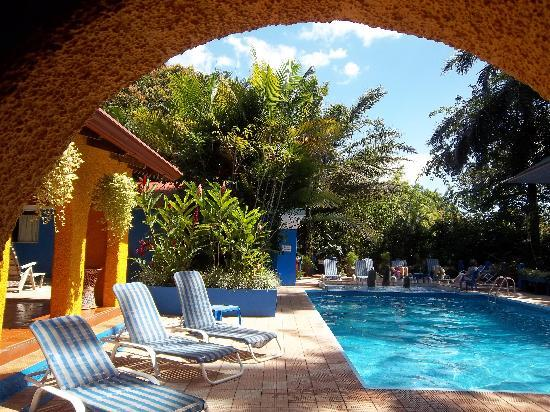 Orquideas Inn: poolside