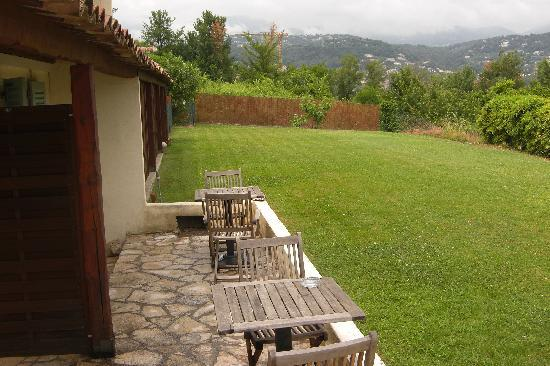 La Colle sur Loup, Francia: Our terrace
