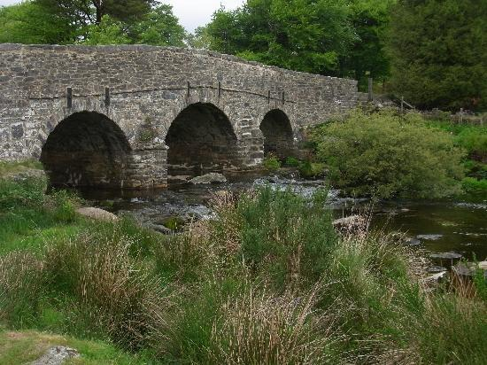 Dartmoor National Park, UK: Steinerne Brücke
