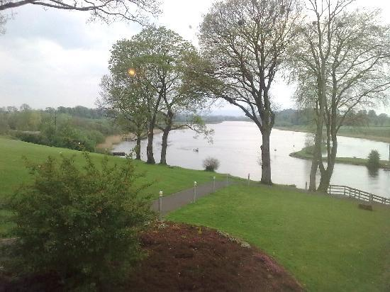 Enniskillen, UK: View from our Room window