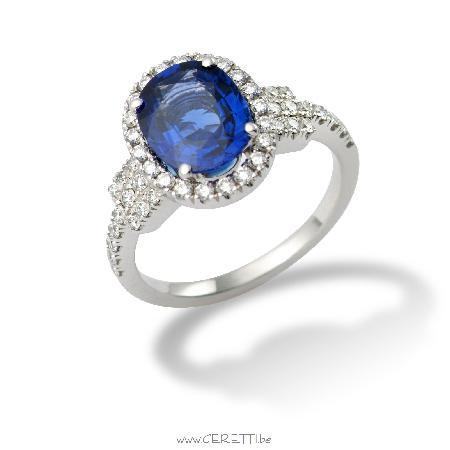 handmade engagement ring by geretti picture of
