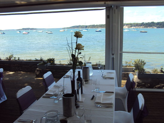 Shell Bay Seafood Restaurant In Studland